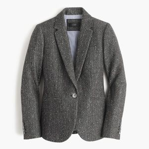 J. Crew Campbell Blazer Sparkle Holiday Donegal